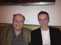 Larry Elman (Sohn von Dave Elman) und Alexander Seel