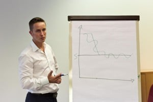 Alexander Seel als Referent im Blitzhypnose Seminar